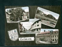 Leimen ( Multivues Idyll Am Brunnen Park Anlagen Hauptstrasse Rathaus Edm. V. König) - Leimen