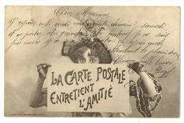 S1719 - La Carte Postale Entretient L' Amitié - Cartes Postales