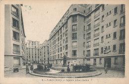 75 // PARIS  XIII EME    Square Albin Cachot  2 - Arrondissement: 13