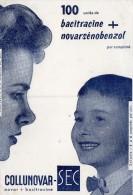 BUVARD  -   COLLUNOVAR -  SEC  -  100 Unités De Bacitracine + Novarsénobenzol - M
