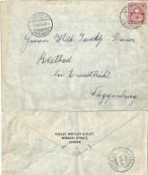 Brief  Zürich Wipkingen - Ennetbühl Toggenburg  (Markenabart)              1904 - Briefe U. Dokumente
