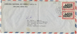 COSTA RICA - 1950 - Airmail - Guerra De Liberacion National, 1948 - Viaggiata Da San José Per Panama - Costa Rica