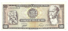 Peru 500 Soles 1972 - Peru