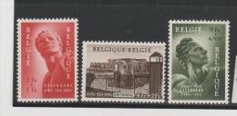 Bel Mi.Nr. 992-94/  BELGIEN -  Breendonk 1954  **  MNH - Ongebruikt