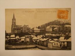 Carte Postale - LA TOUR DU PIN (38) - Quartier De L'Eglise En Hiver (1748) - La Tour-du-Pin