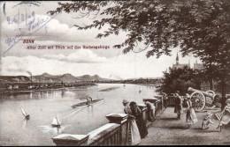 ALLEMAGNE, BONN, ALTER ZOLL MIT BLICK AUF DAS SIEBENGEBIRGE - Bonn