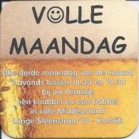 KORTRIJK VOLLE MAANDAG  CAFE MIDDENSTAND LANGE STEENSTRAAT 10 - Sous-bocks