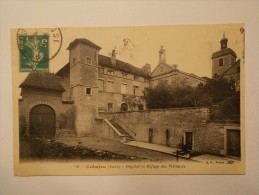 Carte Postale - CREMIEU (38) - Hôpital Et Refuge Des Vieillards (1757) - Crémieu