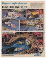 Publicité De 1980 Sur Le Playmobil Le Galion Englouti - Collections