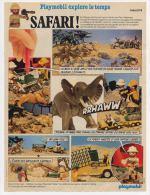 Publicité De 1980 Sur Le Playmobil Safari - Collections