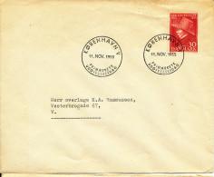 Denmark FDC 11-11-1955 Soren Kierkegard - FDC
