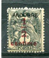 ANDORRE FRANCAIS  N°  1 **  (Y&T) - French Andorra