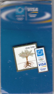 GREECE - Olive Tree, VISA Sponsor Of Athens 2004 Olympics, Unused - Olympische Spelen