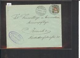 SUISSE - FRANCHISE No 4A  SUR ENVELOPPE - SURCHARGE No 644 - Franchigia