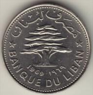 @Y@   Libanon  50 Piaster  1969   (2772  )   Unc - Liban