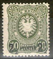 LEVANT (bureaux Allemands): N°5 *  - Cote 165€ - - Offices: Turkish Empire