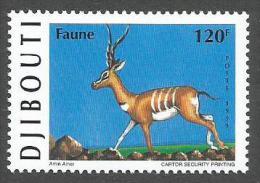 Djibouti 1999 Oryx Gazelle Antilope Michel 675 Neuf Mint MNH - Djibouti (1977-...)