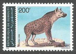 Djibouti 1993 Hyene Hyena Yvert 719CB Michel 614 Neuf Mint MNH - Djibouti (1977-...)