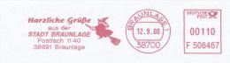 Freistempel 1581 Hexe Auf Besen - BRD