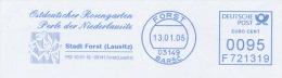 Freistempel 2341 Rose Forst - Poststempel - Freistempel