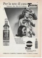 1967  -   Cedrata TASSONI   -  1 Pagina Pubblicità Cm. 13 X 18 - Manifesti