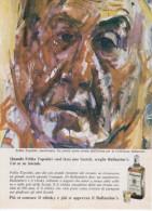 1967 - Whisky BALLANTINE'S  (Feliks Topolski) -  3 Pag. Pubblicità Cm. 13 X 18 - Altri