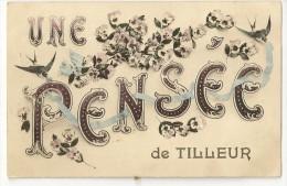 S1749 - Une Pensée De Tilleur - Saint-Nicolas