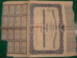 BANQUE D'ALSACE ET DE LORRAINE . ACTION DE 500 F . 2 AVRIL 1928 . LOT DE 4 EXEMPLAIRES - Shareholdings