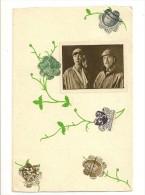 """S1757 - Le Roi Albert 1er Et La Reine Elisabeth """" Collage De Timbres"""" - Evénements"""