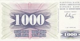 Bosne I Hercegovine -1000 Dinara (UNC, FDC) - Bosnië En Herzegovina