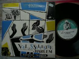33 T LP 25 CM  NOEL ET ST SYLVESTRE A HARLEM DOCUMENT HERBERT PEPPER NEGRO SPIRITUALS OFFICE DE VEILLEE DE NOEL 260V069 - Religion & Gospel