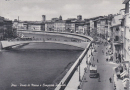 PISA - Ponte Di Mezzo E Viale Pacinotti Con Filobus - Pisa