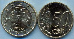 Lithuania 50 Euro Cent 2015 UNC - Lituania