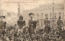 ZARAGOZA-GIGANTES Y CABEZUDOS EN LAS FIESTAS DEL PILAR-Geants-reuzen - Zaragoza