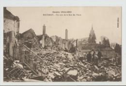 54 Dép.- Guerre 1914-1915 - Baccarat.- Un Coin De La Rue Des Ponts. Cliché Antoine. Carte Postale écrite Au Dos En 1915, - Baccarat