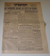 Mondial Paris Du 8 Mai 1945. (les Dernières Heures De Lutte...) - Revues & Journaux