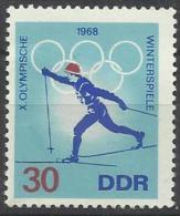 DDr 1968, Giochi Olimpici Invernali Di Grenoble (*), Un Valore Di 6 - Inverno1968: Grenoble