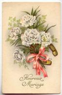 D12592 -  Heureux Mariage   -  Fleurs - Noces