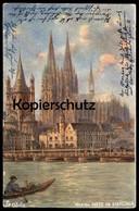 ALTE POSTKARTE OILETTE RAPHAEL TUCK POSTCARD SERIE DEUTSCHE STÄDTE KÖLN Cologne No.170 B Tucks Postcard Hidden Text Cpa - Tuck, Raphael