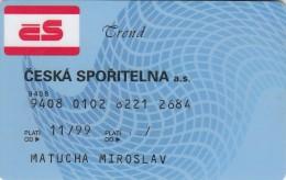 Czech Republic - Ceska Sporitelna - Trend - Rare - Geldkarten (Ablauf Min. 10 Jahre)