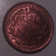 Bolivia 50 Centavos 1942 AUNC - Bolivia