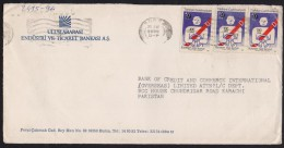Safe Drive, Traffic Rolles, Postal History Cover From TURKEY 20.4.1980 - Indonesia