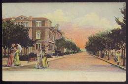 FIGUEIRA DA FOZ  Camara Municipal E Avenida. Edição Da TABACARIA MALAFAIA. Old Postcard (Coimbra) PORTUGAL - Coimbra