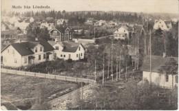 Lönsboda Sweden, View Of Town C1900s/10s Vintage Postcard - Zweden