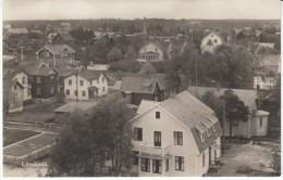 Lönsboda Sweden, View Of Town C1930s Vintage Postcard - Zweden