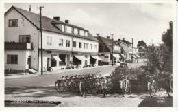 Lönsboda Sweden, View Of Town C1950s Vintage Real Photo Postcard - Zweden