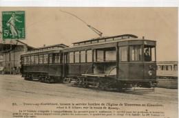 TRAMWAY CORBILLARD Service Funèbre  NEUDIN 85 - Tramways