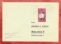 Brief, EF Rundfunk-Ausstellung Berlin, MS Gut Verpackt Gut Angekommen Passau, Nach Muenchen 1962 (69336) - [5] Berlin