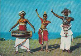Sri Lanka - Kandyan Dancers - 2x Nice Stamps - Sri Lanka (Ceylon)