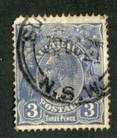 7664x   Australia 1929  Scott #72 Die II   (o) Offers Welcome! - 1913-36 George V: Heads